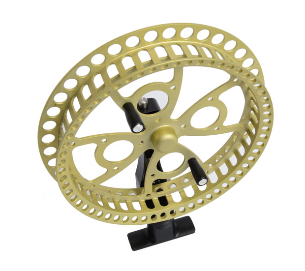 wendelaufrolle flow center pin reel